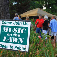 Music on the Lawn – Fridays June 4-Oct 8
