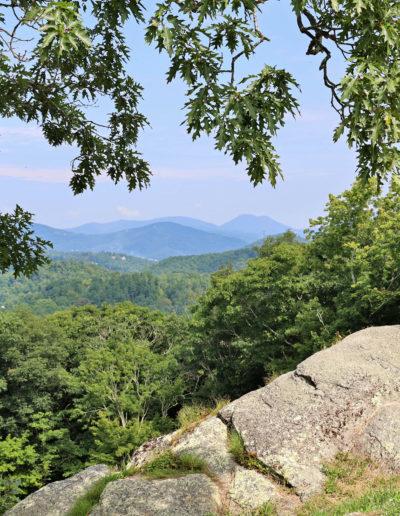 Summer view from Raven Rock Overlook