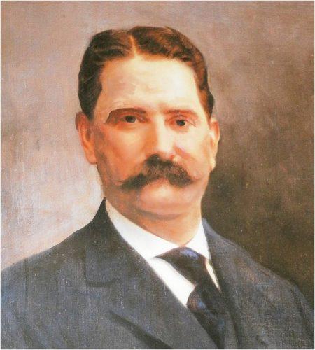 Moses H Cone, circa 1900