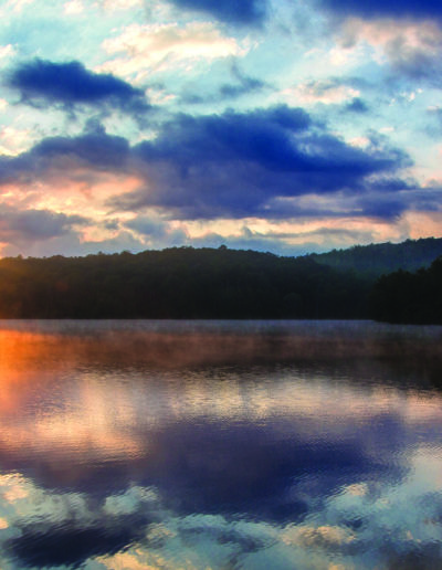 Price Lake at Julian Price Park on the Blue Ridge Parkway