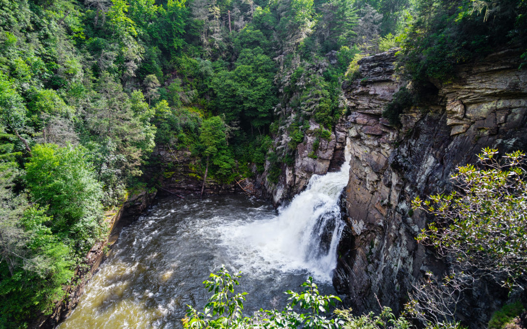 MP 316.4 – Linville Falls, Campground & Hiking Trails