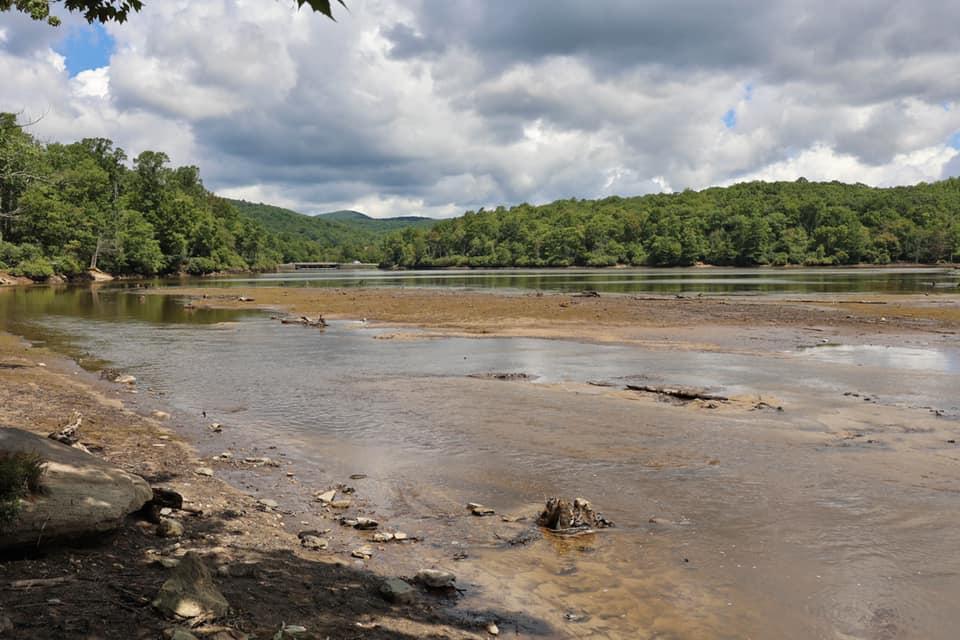 Price Lake Closure on the Blue Ridge Parkway