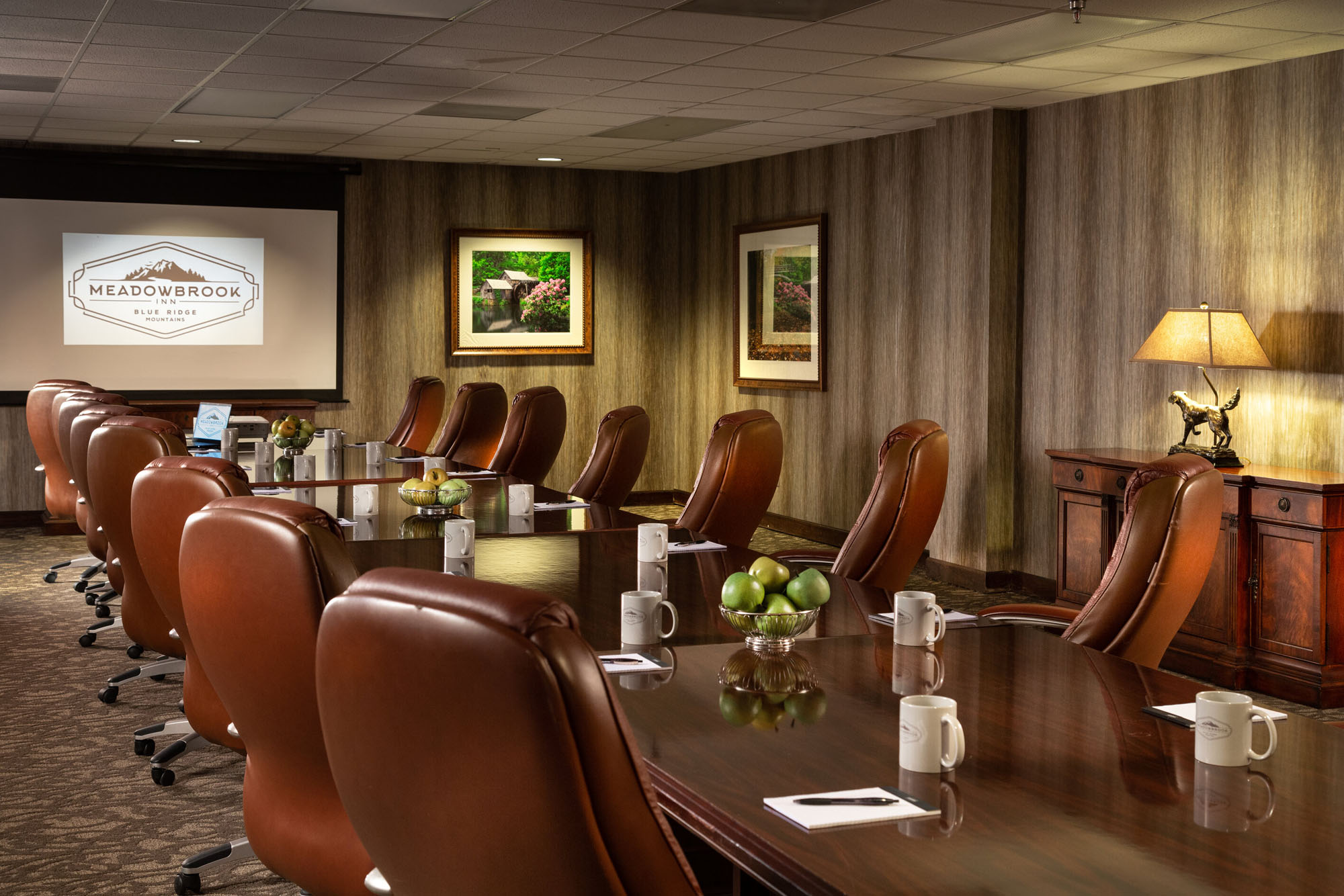 conference room at Meadowbrook Inn