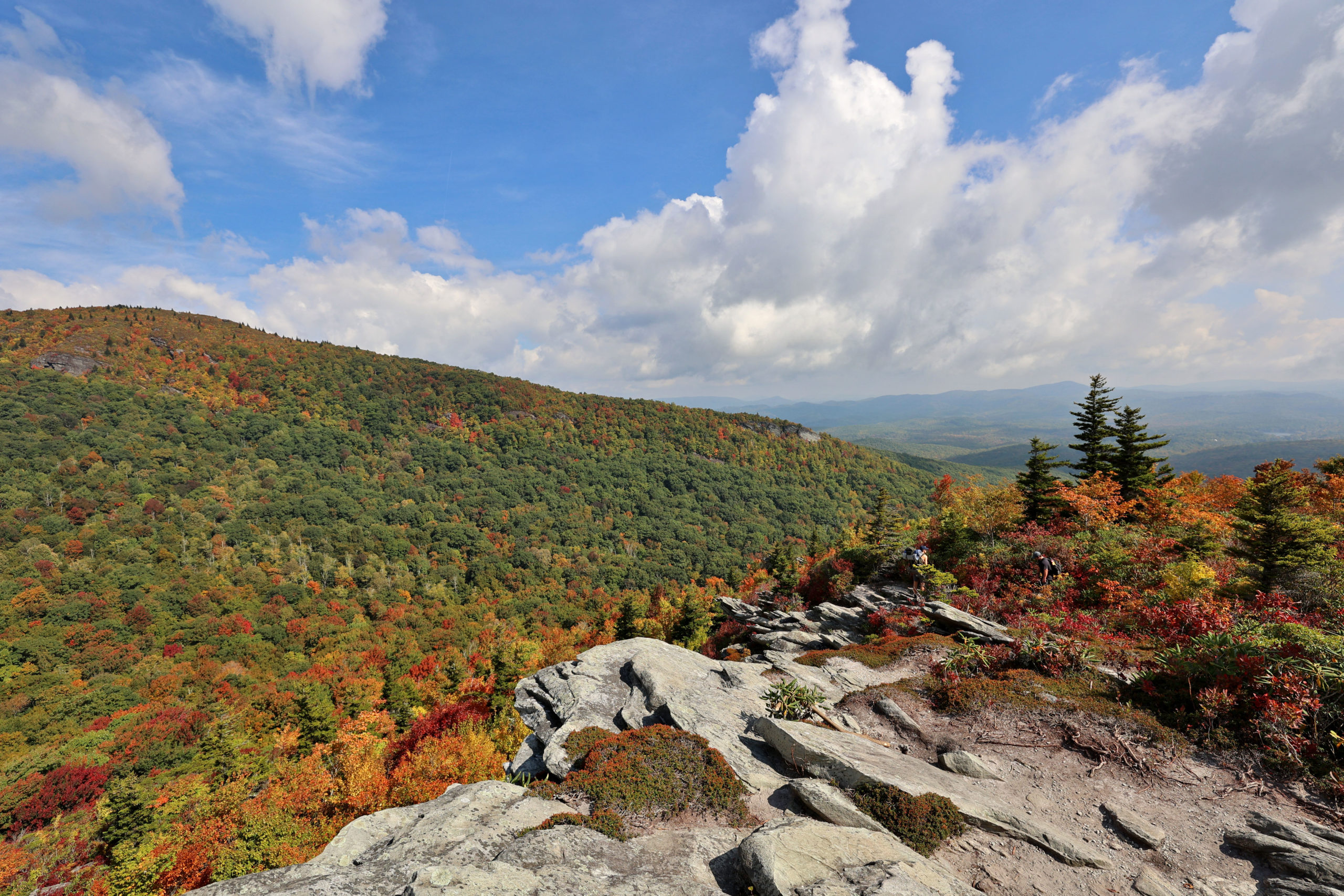 Cragway Trail view