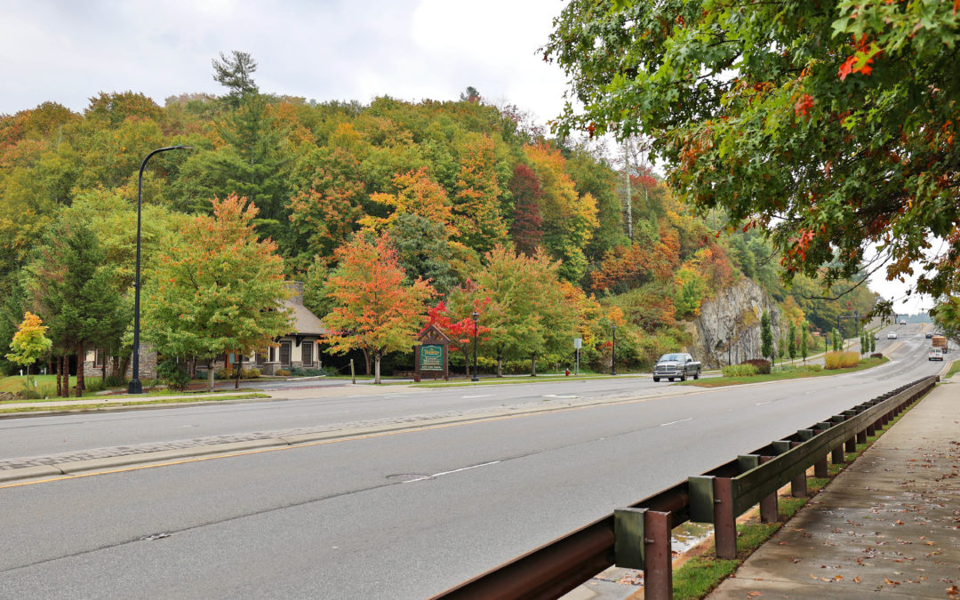Valley Blvd in Blowing Rock