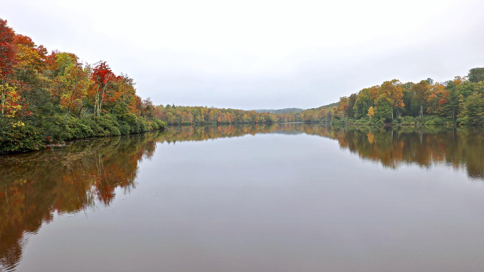 Price Lake in Fall