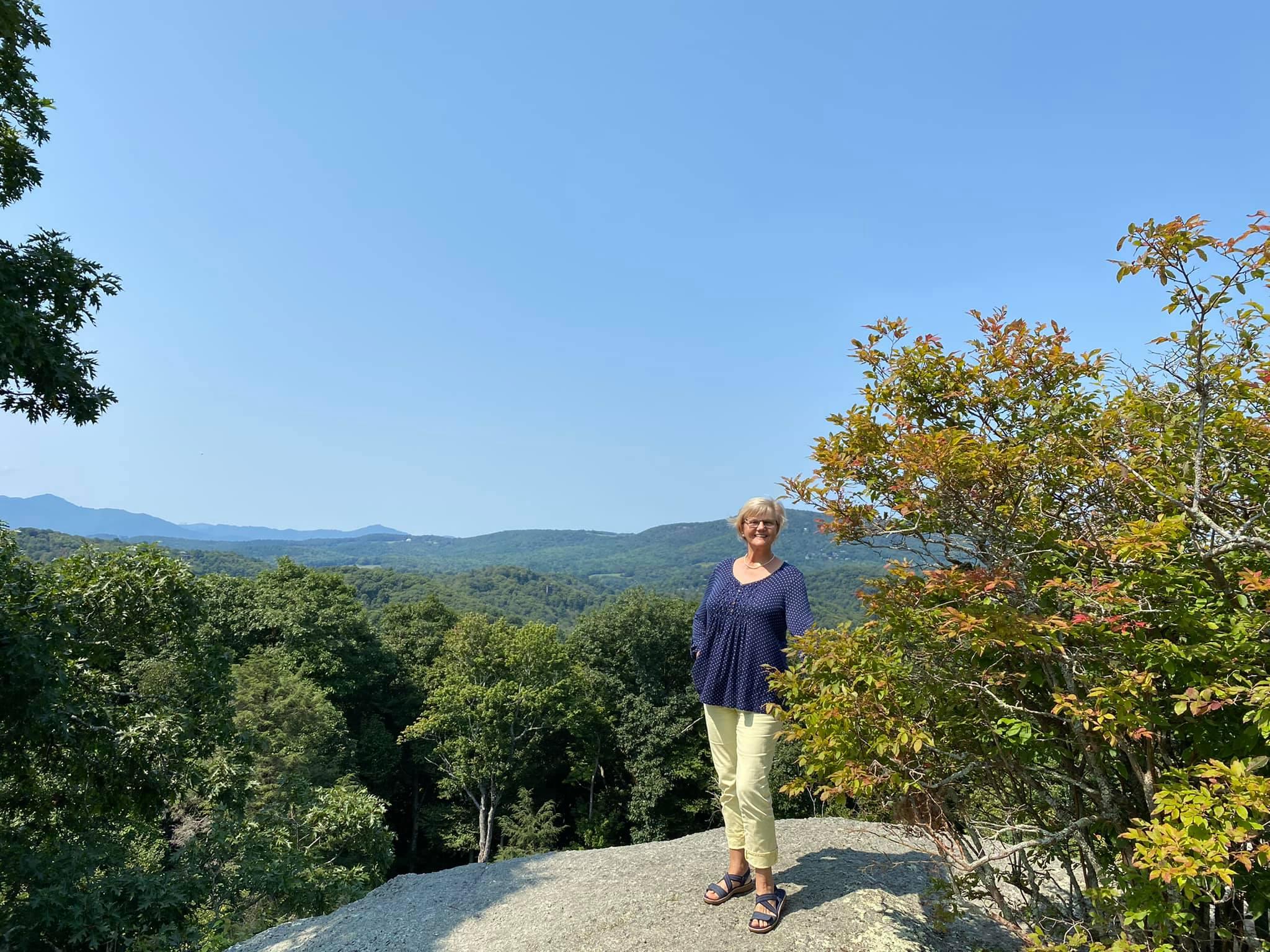 Raven Rocks Overlook- Ingrid Lemme photo