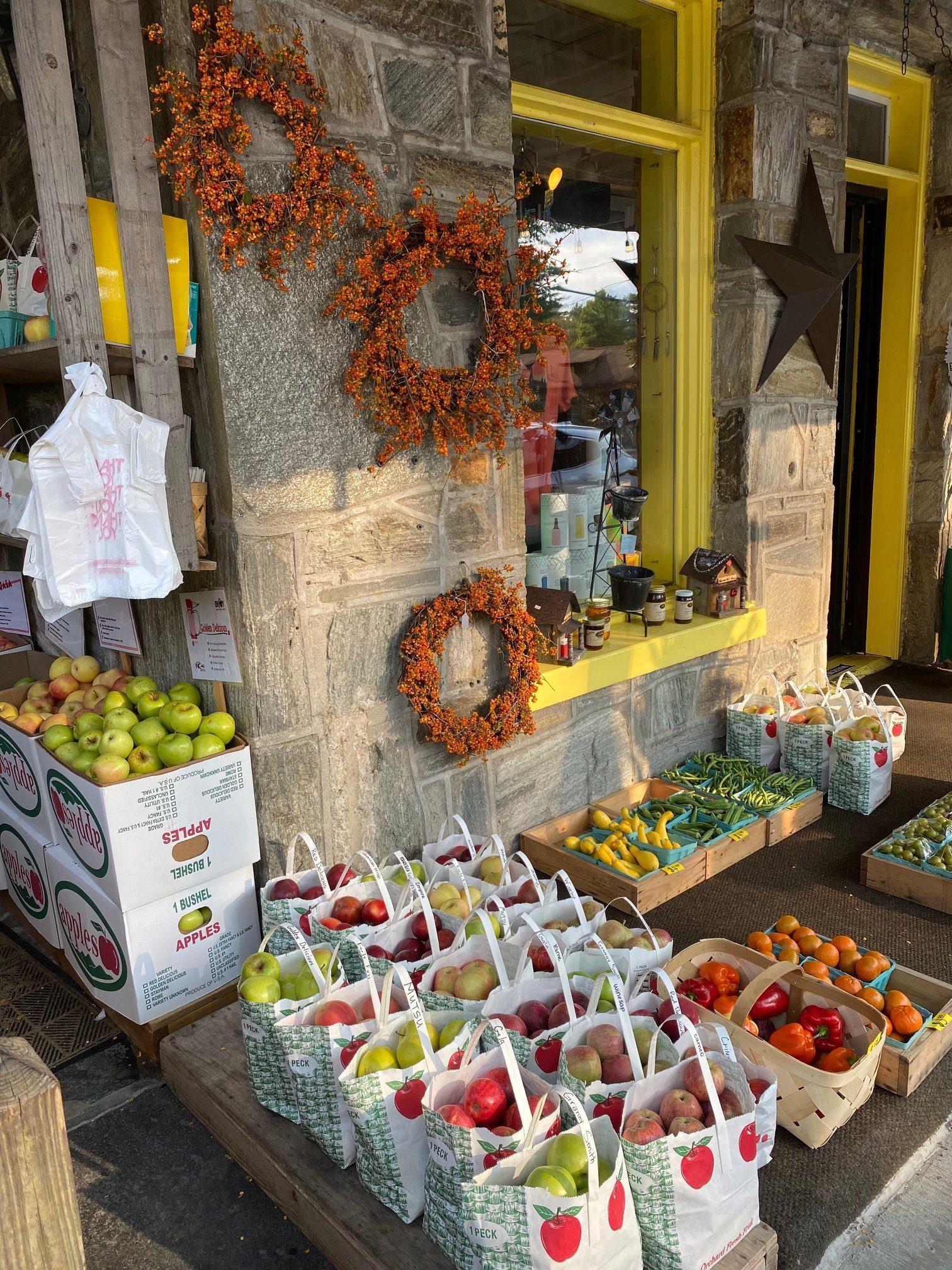 apples on Main Street- Ingrid Lemme photo