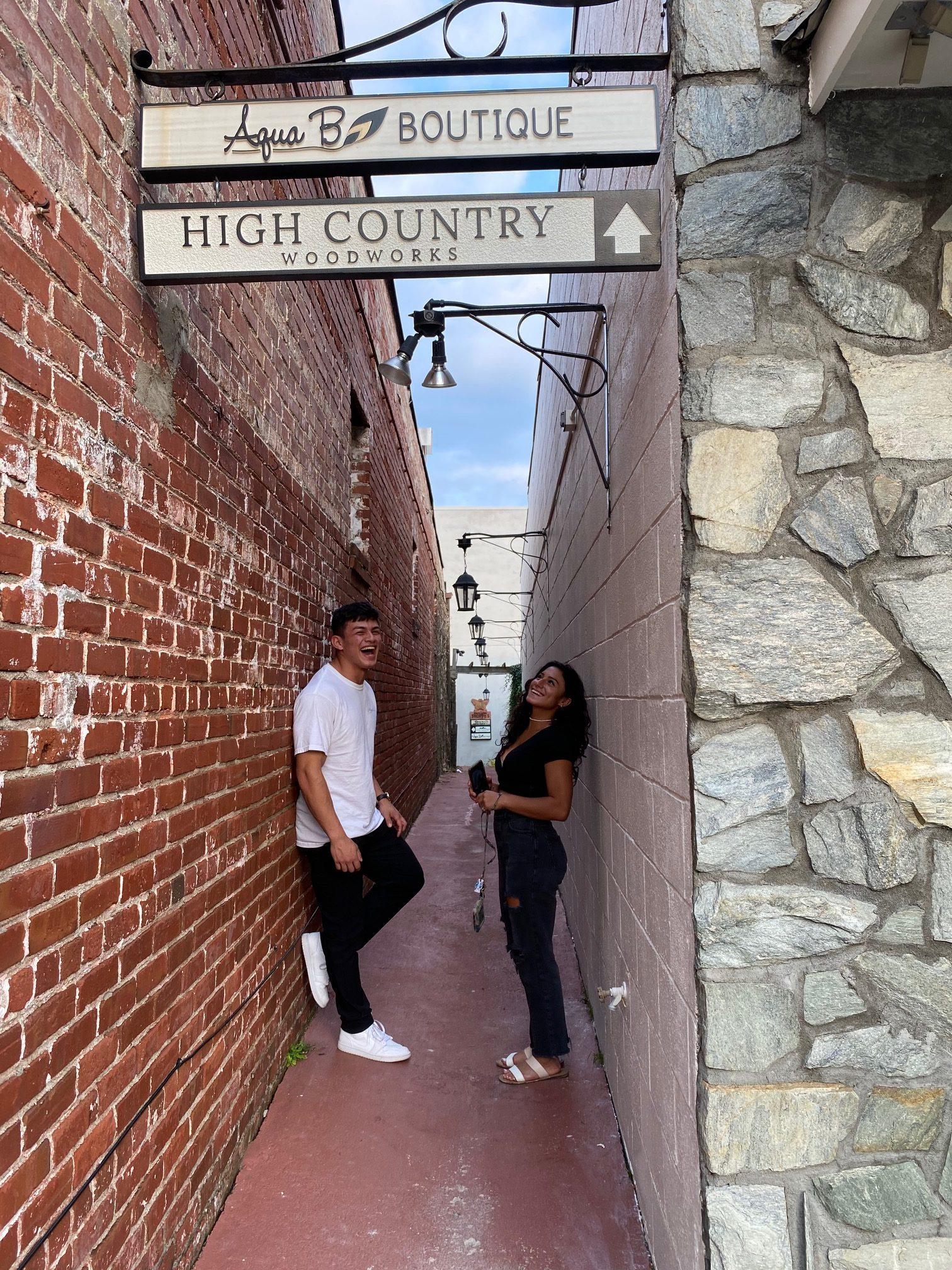 couple on Main Street - Ingrid Lemme photo